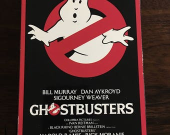 Ghostbusters VHS Video 1985 Original