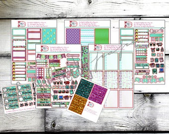 Mermaid Magic Planner Kit -- Perfect for any planner!