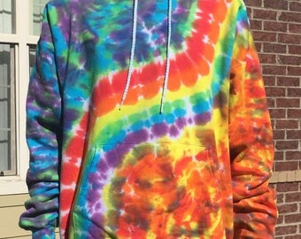 Fire & Ice Tie Dyed Hoodie