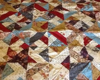 Traditional Patchwork Quilt ,throw in Moda Atelier .