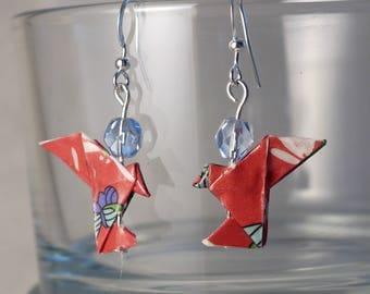 Origami Dove earrings