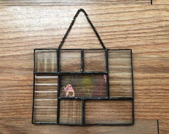 Leaded Glass Decorative Wall Hanging