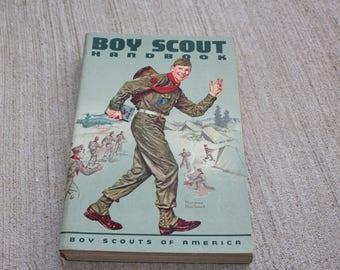 1965 Boy Scout Handbook - Boy Scouts of America - Vintage