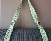 Crochet Yoga Mat Strap handmade gift for her for him Christmas Valentine's Day Birthday