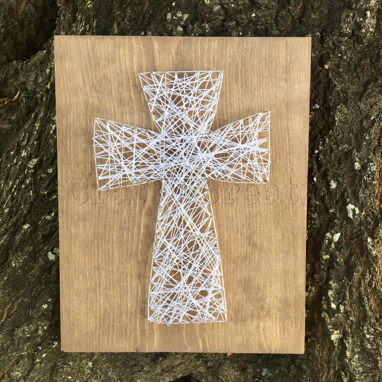 Cross String Nail Art Wooden Nail Art Cross Wooden Cross Nail