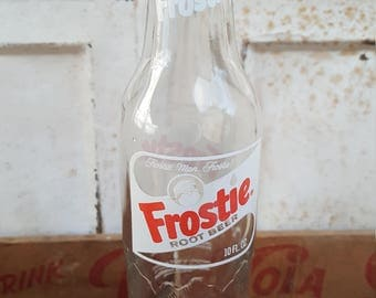 Frostie Root Beer Bottle Camden New, Jersey