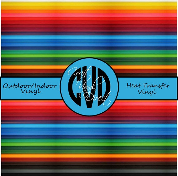 Striped // Serape Patterned Vinyl // Patterned / Printed Vinyl // Outdoor and Heat Transfer Vinyl // Pattern 698