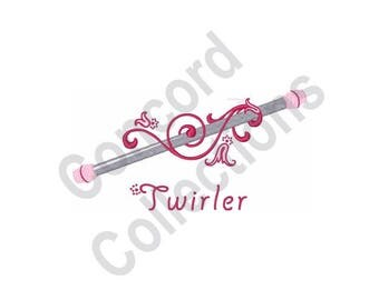 Baton Twirler - Machine Embroidery Design