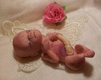 Twenty week baby sculpture