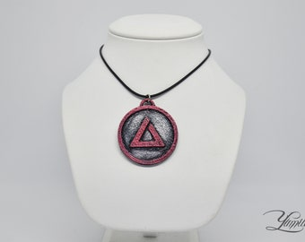 The Witcher inspired medallion - Igni sign | The Witcher cosplay | The Witcher Medallion | The Witcher Pendant