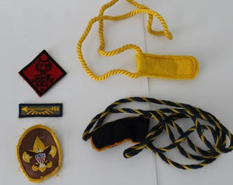 Cub Scouts Patches, Denner Cord and Chief Cord