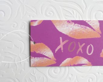 100 CLOTHING TAGS JEWELRY Tags Accessories Tags Boutique Tags Cute Xoxo & Glossy Lips Rebe's Creations Retail Tags W 100 Self-Locking Loops
