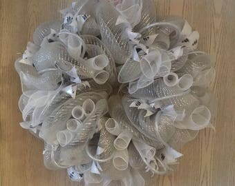 Winter Silver Wreath