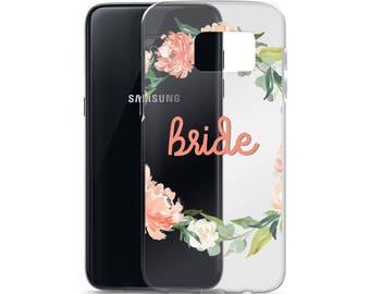 Bride Wedding Party Samsung Case