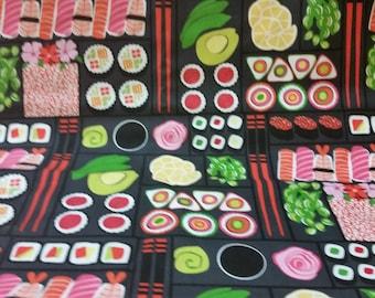 Sushi Grocery Bag Holder Dispenser - Gourmet Sushi Designer Material Plastic Bag Holder - Suchi Kitchen Bag Storage - Sushi Grocery Bag