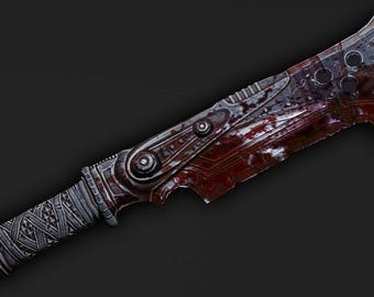 Butcher Cleaver Gears of War 3 cosplay prop