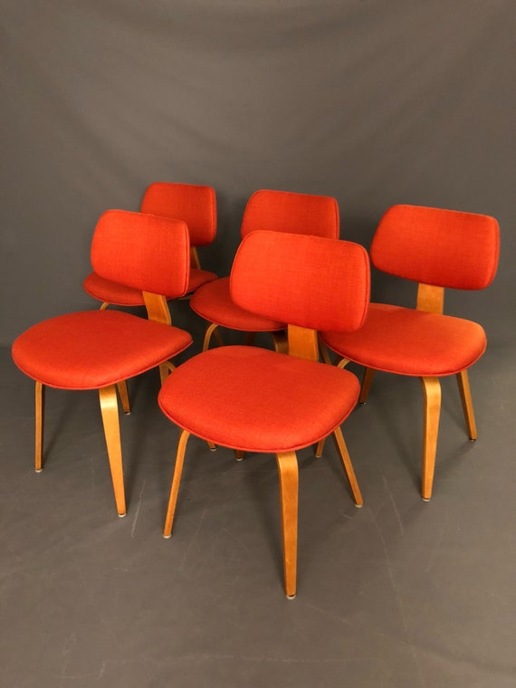 Mid-Century restored Dinning Chairs set of 5
