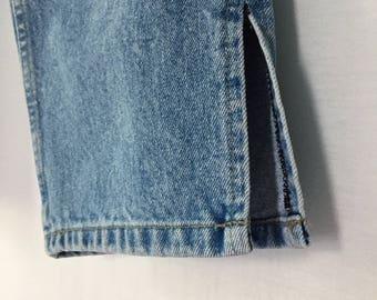 90s bill blass cropped jeans