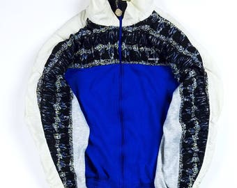 Vintage Members Only Athleisure Jacket 2XL, Tredy Colorblock Jacket XXL