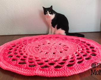 The 'Pink it's my new obsession' rug