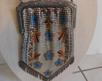 Vintage Whiting and Davis Metal Mesh Purse