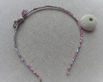 Headband flower headband fabric headband pink fabric flower headband bow