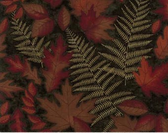 Autumn Reflections Green Shadow 6711 15 - Moda Fabrics 100% Cotton Quilting Fabric by Holly Taylor