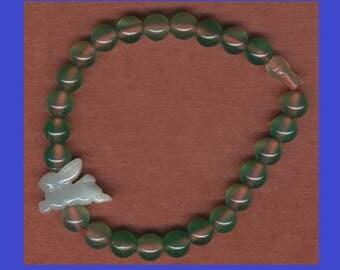 Radiant Rabbit Blessing Bead Bracelet
