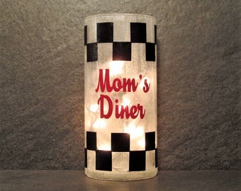 Kitchen Light Mom's Diner
