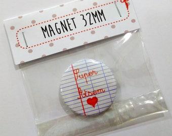 32mm magnet sheet notebook Super?