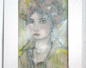 Ruby, fine-arts print with Passepartout