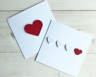 Handmade card - Heart