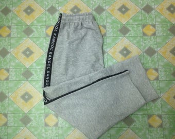 15% Off with Coupon Codes!!! Vintage Kangol Spellout Tracksuit Pants