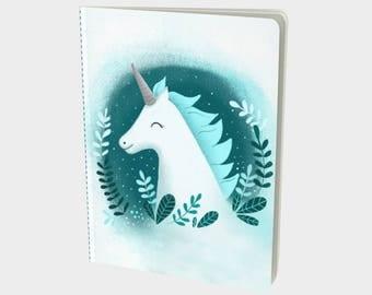 "Bullet journal / notebook / sketch ""Unicorn"""