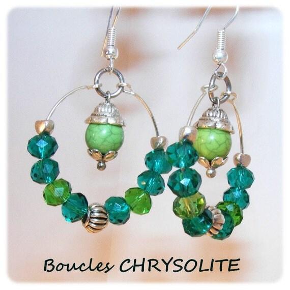 Earrings # dangling # hoop # rings # earrings unique Crystal # dollydoo # gift # beads