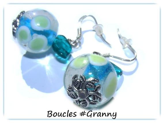 Earrings kind of Designer [Granny Apple]