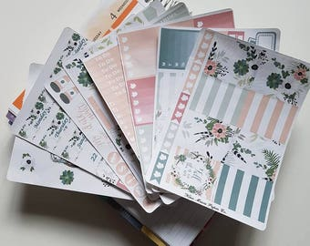 Planner Stickers - Fall Floral