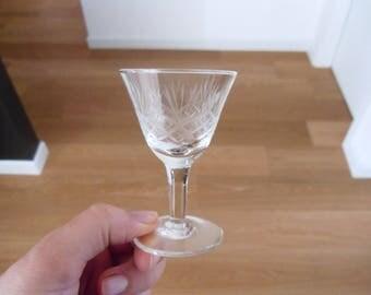 Glass for bitter/liquor liqueur/vintage short for digestive