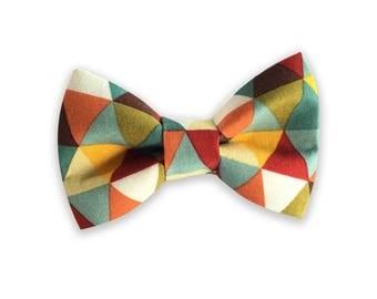 Triangle Bow Tie, Dog Collar Bow Tie, Dog Bow Tie, Dog Collar bow tie, bow tie for collar, bow tie for collar, hidden strap