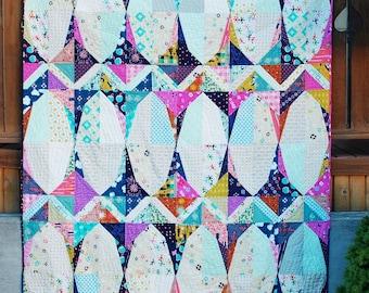 GARDEN GATE - Scott Hansen Blue Nickel Studio Pattern
