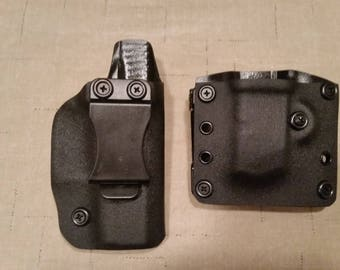 Combo Kit IWB Holster and Mag Carrier Black