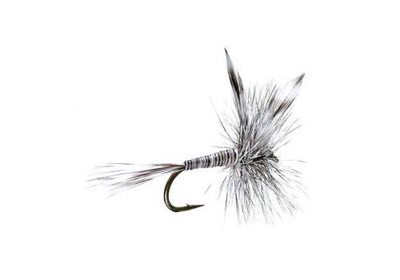 Mosquito Classic Dry Fly - Hook Size 16 - Hand-Tied Fly Fishing Trout Flies
