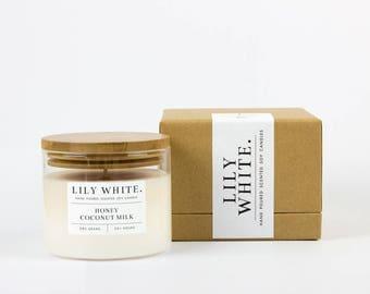 Honey + Coconut Milk Candle (385 g)
