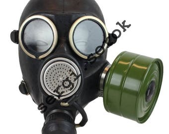 Russian Army Military Gas Mask GP-7 with new one side filter 2016 year