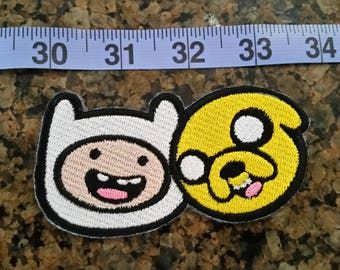 Finn and Jake iron on patch