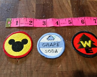 Disney's Up badges iron on patch