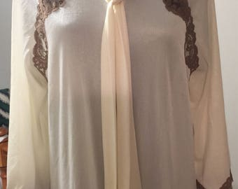 Vintage Sears Negligee Robe Only