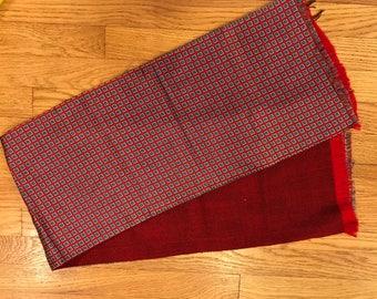 Vintage Gentleman's evening scarf