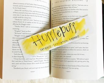 Hufflepuff Inspired Bookmark