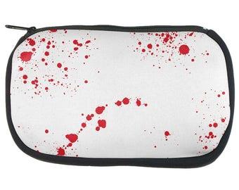 Halloween Blood Splatter Pencil Pouch